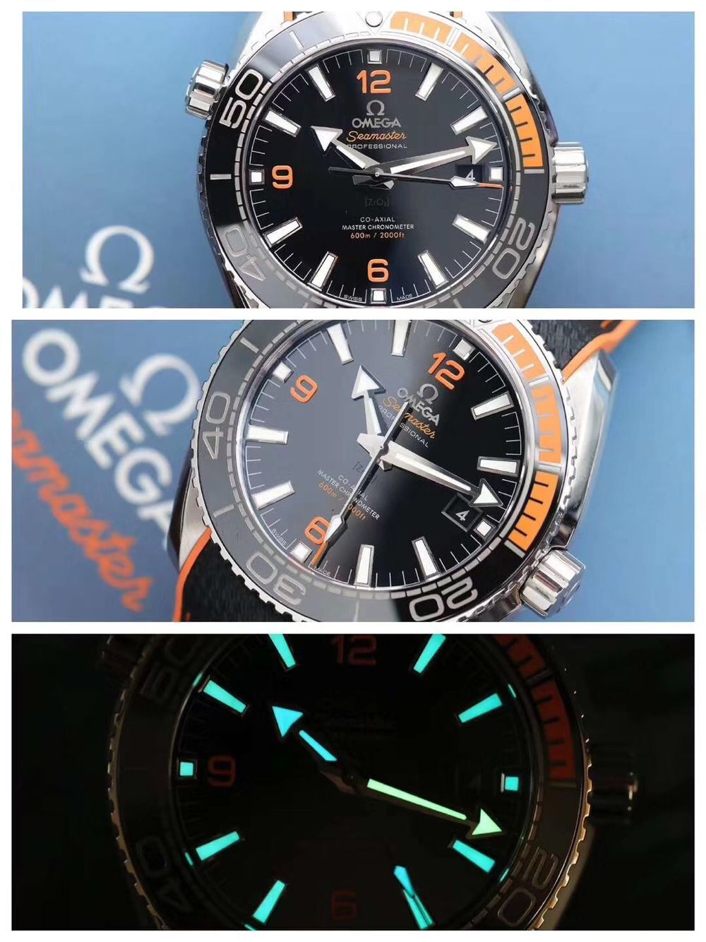 Omega Seamaster 600m mens watches