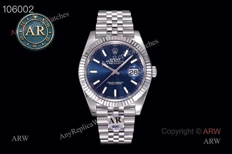 New Replica Rolex Datejust 41 Jubilee Watch- Ref 126334 AR Facyory Rolex 904L (1)