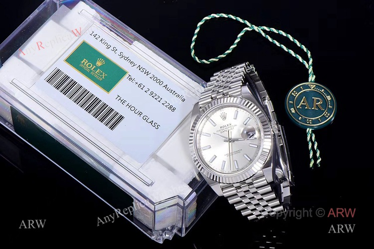 New Replica Rolex Datejust 41 Jubilee Watch- Ref 126334 AR Facyory Rolex 904L (10)