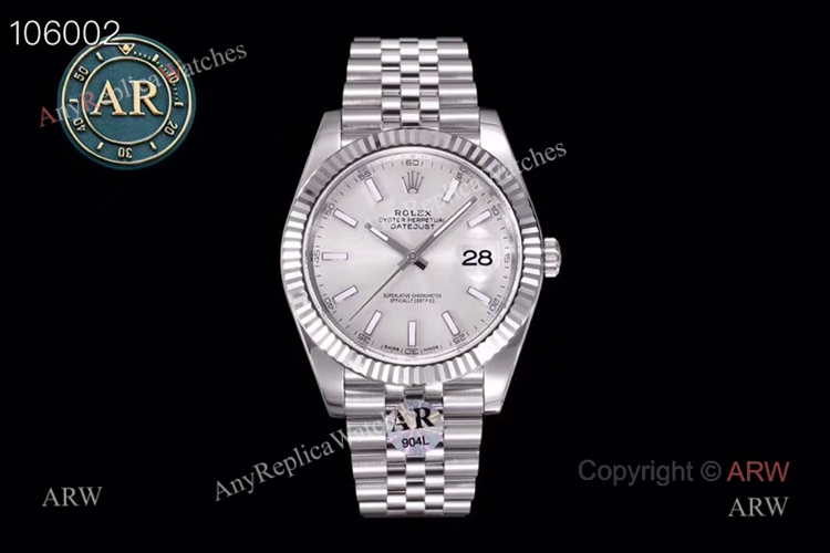 New Replica Rolex Datejust 41 Jubilee Watch- Ref 126334 AR Facyory Rolex 904L (2)