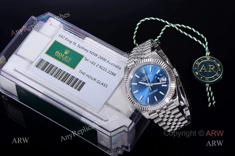 New Replica Rolex Datejust 41 Jubilee Watch- Ref 126334 AR Facyory Rolex 904L (8)