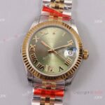 New Rolex Datejust 31 Jubilee Watch With Green Dial Swiss Made Replica(1)