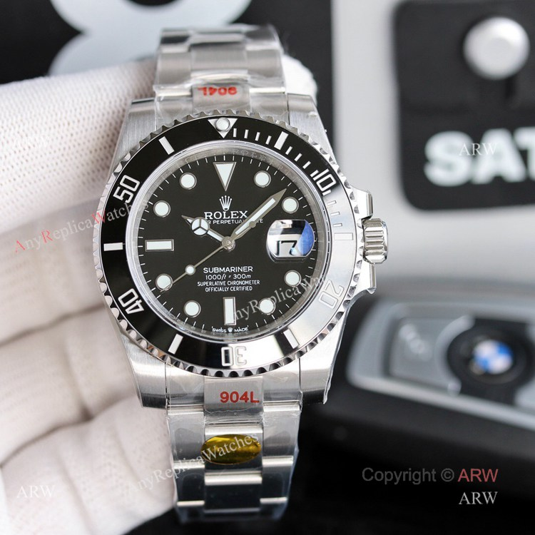 New Rolex Submariner 2020 For Sale - Noob Factory Best Replica Rolex Submariner Black Dial 41mm Watch (1)