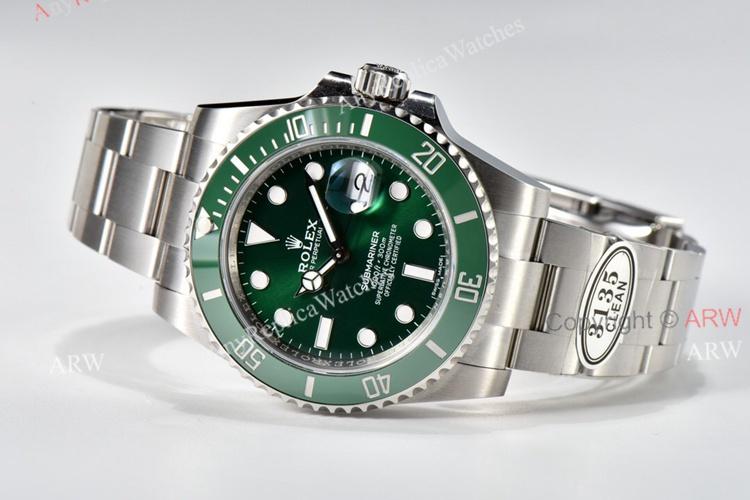 Clean Factory Submariner V4 Hulk 116610LV Super Clone Rolex Watches 40mm (5)