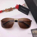 New Replica Porsche P 8541 Gold Frame Sunglasses - Polarized lenses