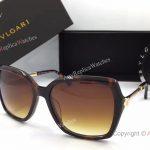 Replica BVLGARI BV 8206 Sunglasses - Black Plastic Frame (2)