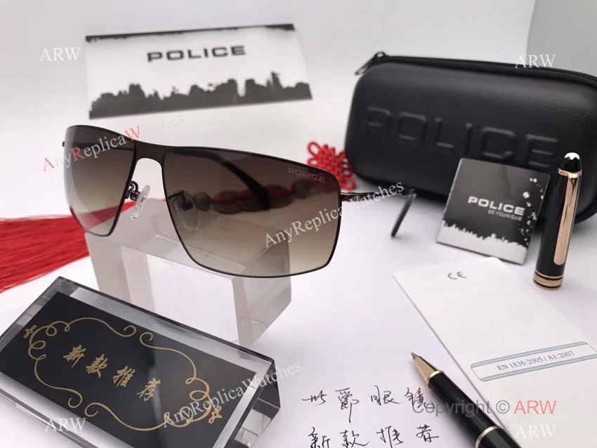 Wholesale Price Porsche Design Sunglasses Gold Titanium Frame for sale (5)