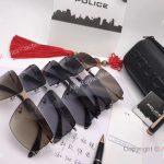 Wholesale Price Porsche Design Sunglasses Gold Titanium Frame for sale (6)
