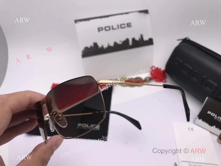 Wholesale Price Porsche Design Sunglasses Gold Titanium Frame for sale (7)