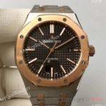 replica-audemars-piguet-royal-oak-15400-jf-stainless-steel-rose-gold-black-dial-swiss-3120