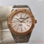 replica-audemars-piguet-royal-oak-15400-jf-stainless-steel-rose-gold-silver-dial-swiss-3120