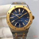 replica-audemars-piguet-royal-oak-15400-jf-stainless-steel-yellow-gold-blue-dial-swiss-3120