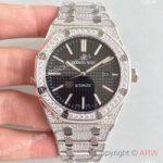 replica-audemars-piguet-royal-oak-15400-n-stainless-steel-diamond-black-dial-swiss-3120