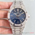 replica-audemars-piguet-royal-oak-15400-n-stainless-steel-diamond-blue-dial-swiss-3120