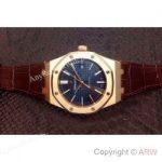 replica-audemars-piguet-royal-oak-15400-rose-gold-blue-dial-swiss-9015