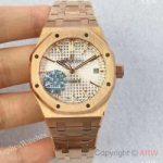 replica-audemars-piguet-royal-oak-15450-jf-rose-gold-silver-dial-swiss-3120