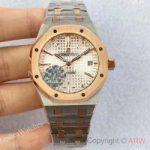 replica-audemars-piguet-royal-oak-15450-jf-stainless-steel-rose-gold-silver-dial-swiss-3120