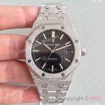 replica-audemars-piguet-royal-oak-frosted-gold-37mm-15454-jh-stainless-steel-black-dial-swiss-3120