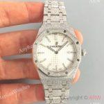 replica-audemars-piguet-royal-oak-frosted-gold-quartz-33mm-67653-om-stainless-steel-white-dial-swiss-3132