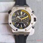 replica-audemars-piguet-royal-oak-offshore-diver-chronograph-26703stoo-jf-stainless-steel-black-dial-swiss-3124