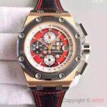 replica-audemars-piguet-royal-oak-offshore-rubens-barrichello-ii-26284roood002cr01-jf-rose-gold-red-dial-swiss-3126