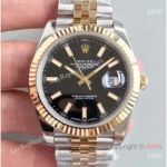 replica-rolex-datejust-41-126333-41mm-n-stainless-steel-yellow-gold-black-dial-swiss-3235