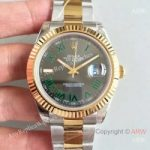 replica-rolex-datejust-ii-116333-41mm-ew-stainless-steel-yellow-gold-anthracite-dial-swiss-3136