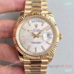 replica-rolex-day-date-40-228238-n-yellow-gold-silver-diagonal-dial-swiss-3255