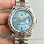 replica-rolex-day-date-40-228239-40mm-kw-stainless-steel-blue-dial-swiss-3255