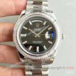 replica-rolex-day-date-40-228396tbr-40mm-kw-stainless-steel-diamonds-black-dial-swiss-3255