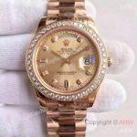 replica-rolex-day-date-ii-218235-41mm-kw-rose-gold-diamonds-gold-dial-swiss-3255