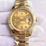 replica-rolex-day-date-ii-218238-41mm-kw-yellow-gold-champagne-dial-swiss-3255