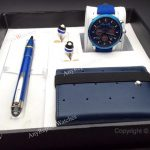 2019 Newest Montblanc Blue Pen and Wallet Watches (4)