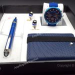 2019 Newest Montblanc Blue Pen and Wallet Watches (5)