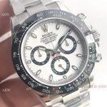 Noob Swiss 4130 Rolex Daytona White Dial Ceramic Bezel Watch (7)