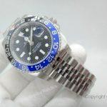 Rolex GMT Master II Black Blue Bezel 40mm Replica Watch (6)