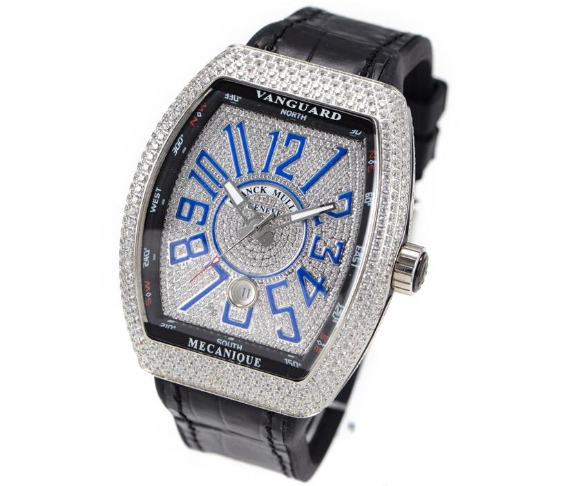 Franck Muller Vanguard V45 Diamonds Dial Men Watches
